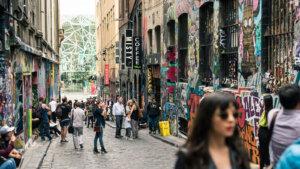 Hosier Lane Melbourne