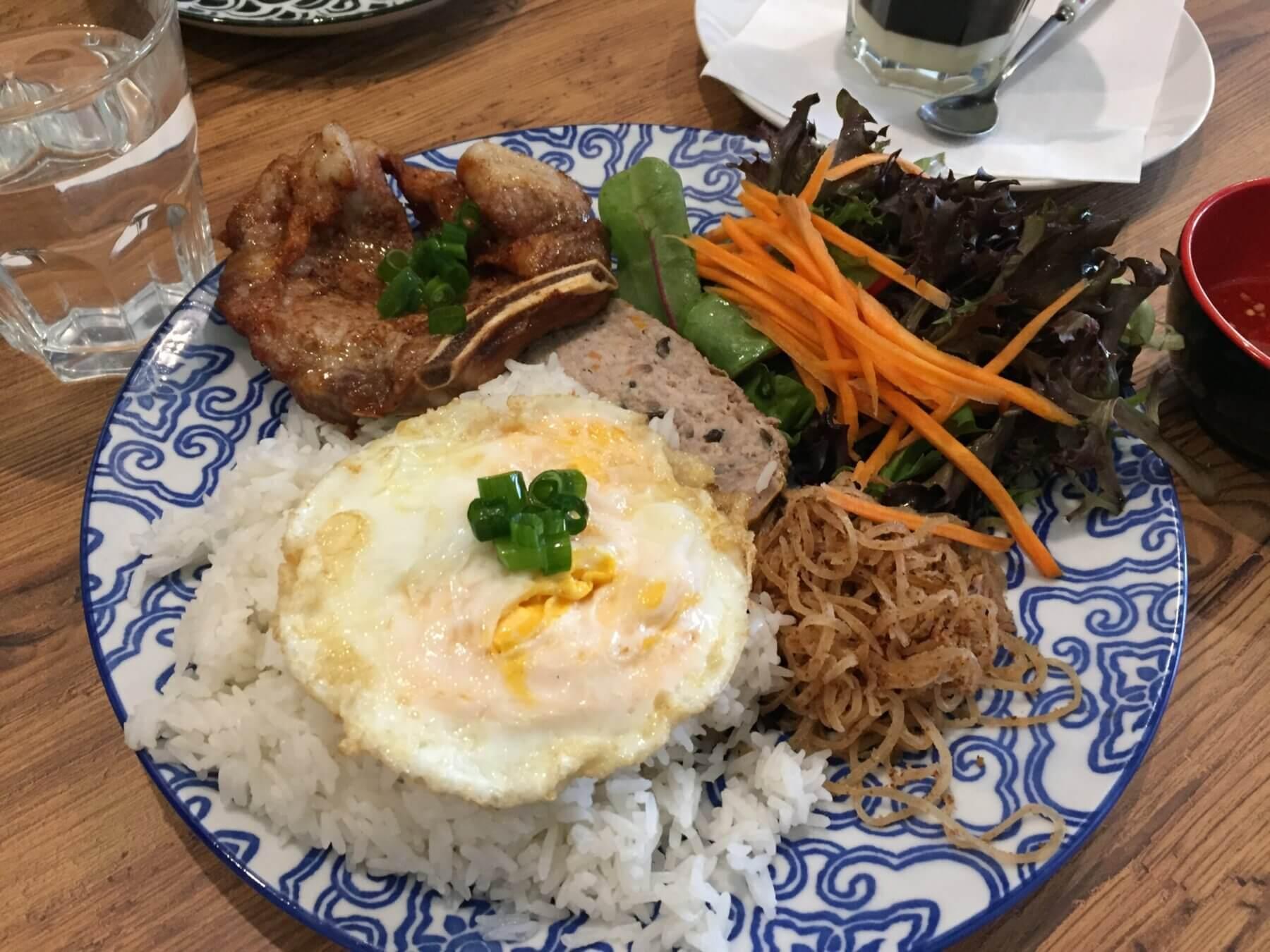 grilled pork rice